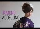 Modelling Japanese Kimono ♥ 着物のモデルをしました