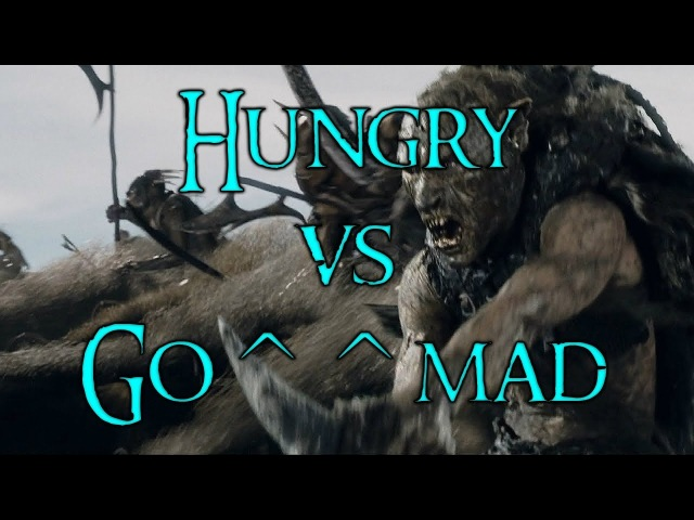 The Lord of the Rings - The Battle for Middle-Earth [AxC]^Hungry* vs Go^^mad(Комментирование)