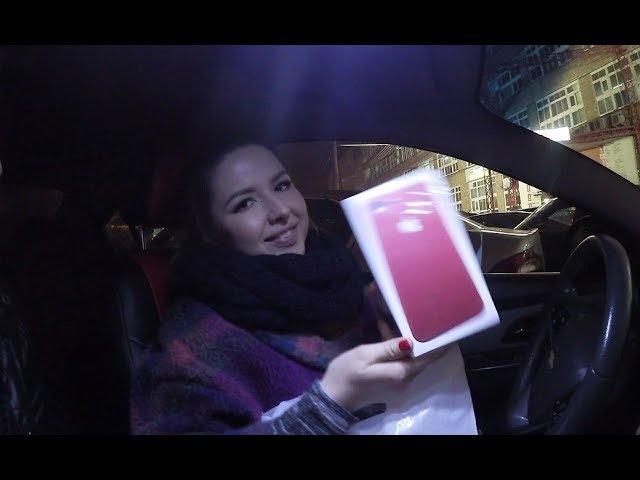 Один день вдвоем с Жиней, покупаем Apple iPhone 7 Plus RED