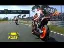 DRAMATIC BATTLE - FULL LAP MotoGp 2016 FranchGP France - Valentino Rossi Up Inside
