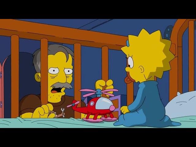 Симпсоны (28 сезон, 8 серия) - Мэгги, пустышка и переговорщик ФБР