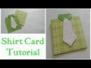 Father's Day Card/Shirt Card Tutorial By Srushti Patil