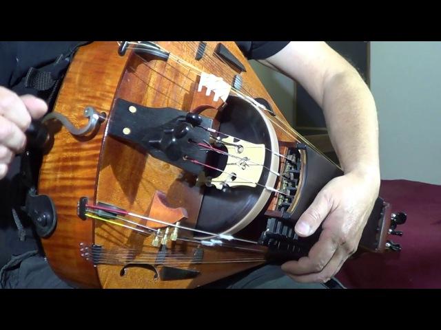 Medieval Tune Hurdy Gurdy With Organ