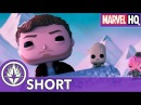 Marvel Funko Presents: Cosmic Sleigh Ride (Starring Star-Lord, Baby Groot, Taserface)