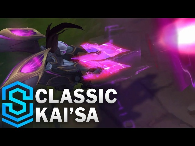 Classic Kai'Sa, Daughter of the Void - Ability Preview - League of Legends