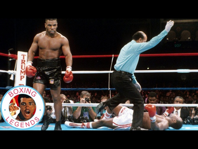 Mike Tyson vs Larry Holmes (Highlights) [1988-01-22]