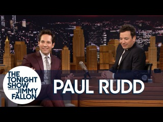 """Jimmy Surprises Paul Rudd with Outtakes from Their """"King of Wishful Thinking"""" Remake"""