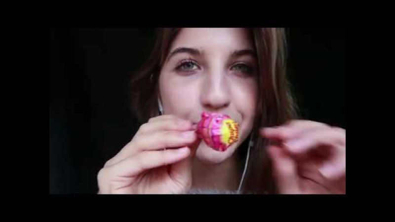 ASMR Lollipop Licking Tracing ~ Fluffy Mic