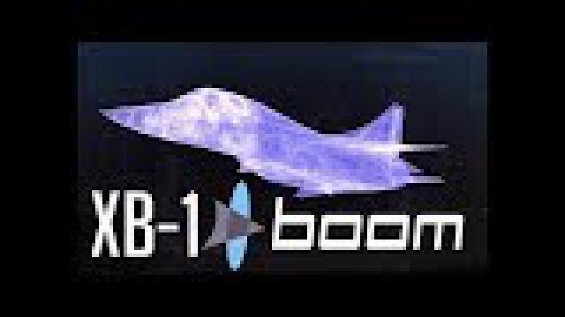 INCREIBLE Avion supersonico de pasajeros XB 1 Boom