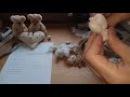 Валентинка Мастер класс Каркасная кукла из капрона С Днем Влюбленных всех всех всех