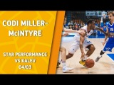 VTBUnitedLeague • Star Performance. Codi Miller-Mcintyre - career high 24 pts & 17 ast in historic win against Kalev!