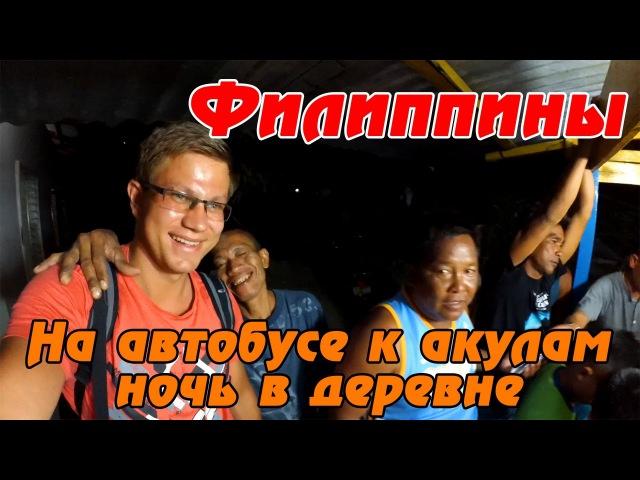 Азартные пьяные филиппинцы. На автобусе с местными из Себу в Ослоб к акулам своим ходом. 11