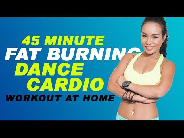 45 Minute Fat Burning Dance Cardio Workout at home | Bài tập 45 phút giảm cân tại nhà| Michelle Vo