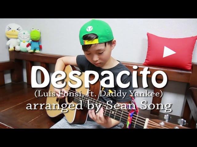 Ребенок играет Despacito - Luis Fonsi, ft.Daddy Yankee на гитаре