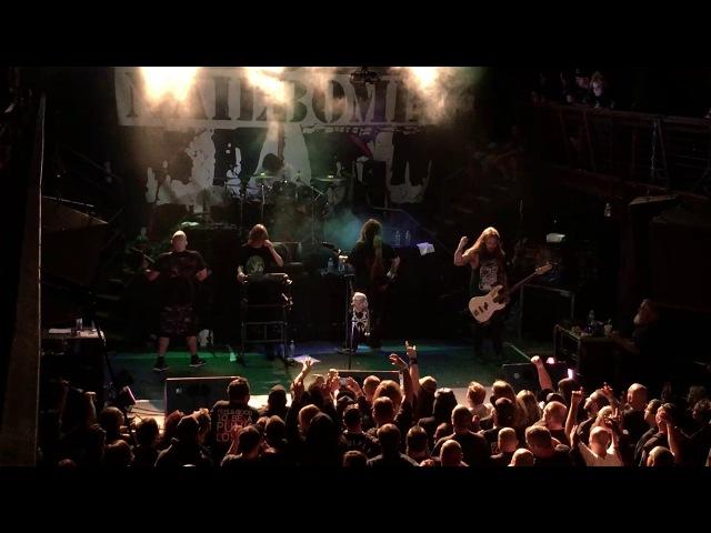Soulfly Nailbomb 24 Hour Bullshit live at DNA Lounge 10/08/17