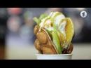 Как готовятся гонконгские вафли Утренний эфир