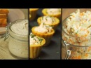 Три закуски из рыбы Рецепт от Всегда Вкусно