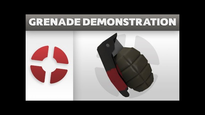 Unused Grenade Demonstration Frag Grenade