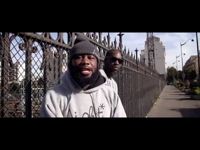 Young CRhyme feat Will Black 2 TURNTABLES 2 MICS OFFICIAL HD VIDEO (Paris trip 1 of 3)