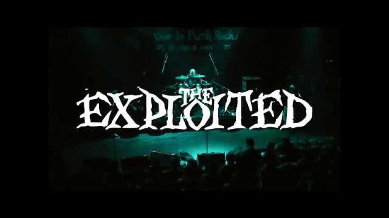 The Exploited - Live in Vive Le Punk Rock Fest, Athens 24.02.2017