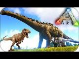 Ark Survival Evolved - TITANOSAUR vs T-Rex - КАК РЕЙДИЛИ НАШУ БАЗУ #5
