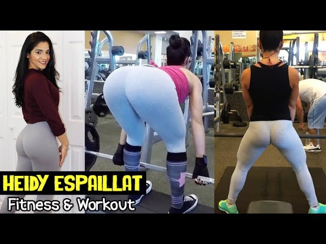 HEIDY ESPAILLAT - Fitness Model: Fitness and Bodybuilding - Booty Hamstrings Workout @ USA
