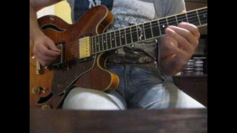 Guitar Campus. Студент - Артем Мартьянов. Обыгрывание статичного аккорда (прим.2), д/з