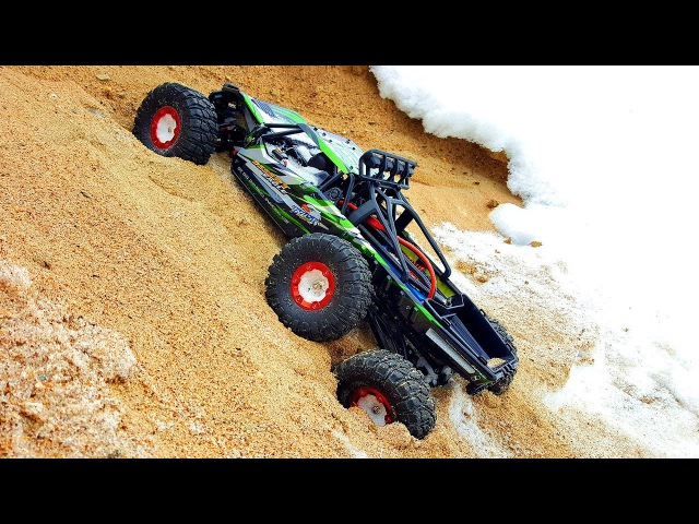 RC Truck 6x6 OFF Road Snow Bashing — FEIYUE FY06 112 2 4GHz 6WD Off Road Desert Truck