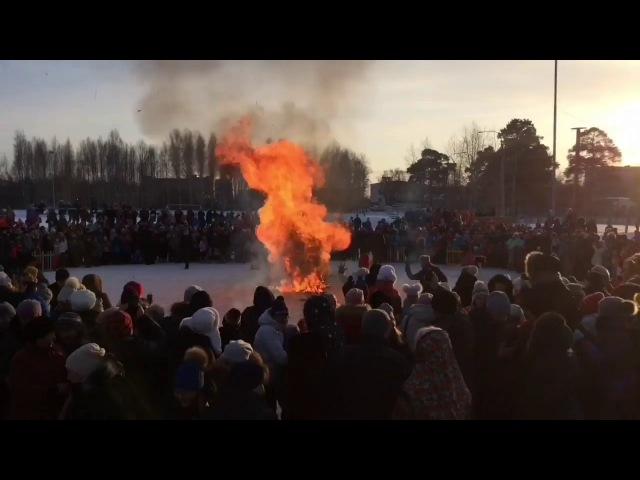 Масленица с Пермской заставой в Усть-Качке