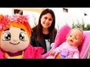 Bebek giydirme oyunları izle 🚼. Ayşe bebek Gül ile parka gidiyor! Kız çocuk videoları - anneoyunu
