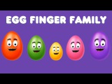 The Finger Family Easter Egg Cake Pops Family Nursery Rhyme  Easter Finger Family Songs