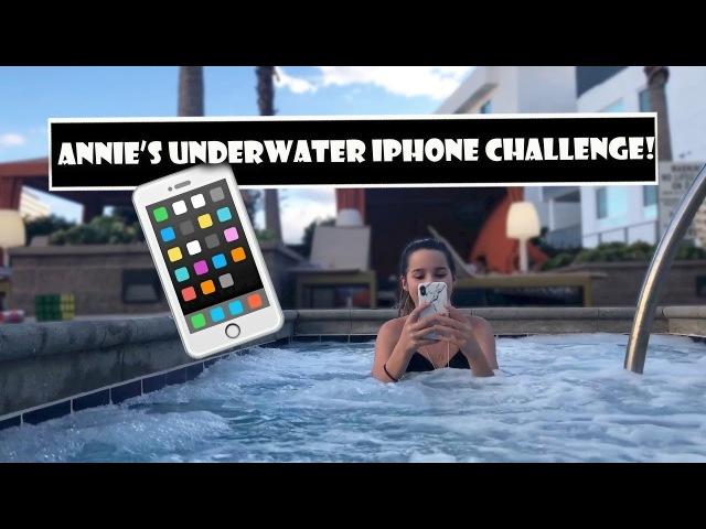 Annie's Underwater iPhone Challenge 📱 (WK 372.6)   Bratayley