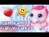 Fun Animal Baby Care Kids Game - Pony Sisters Baby Horse Care - Fun Pony Care Game For Kids