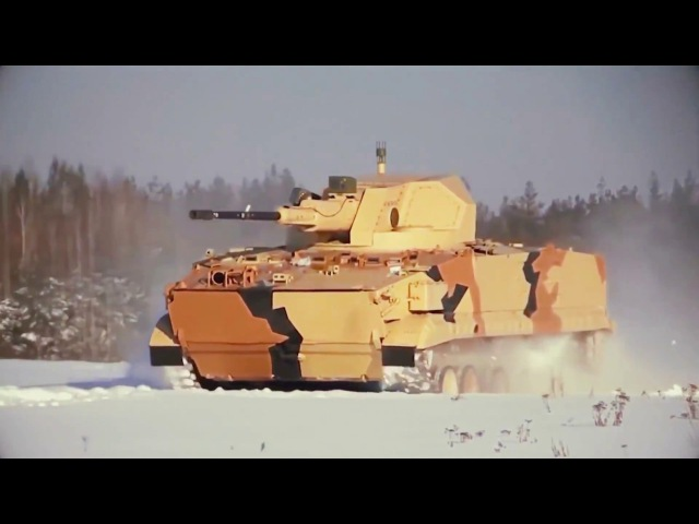 Russia BRM 3K Armoured Reconnaissance Vehicle With 57mm Autocannon Firing Tests 1080p
