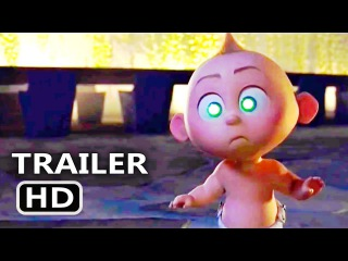 INCREDIBLES 2 Teaser Trailer #2 (2018) Disney Pixar Animated Movie HD