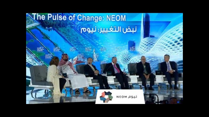 Neom: The City of the Future is Huge, Hyper-Tech and on the Map.
