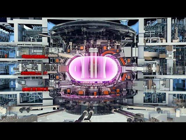 ITER / ИТЭР. Токамак. Гиротрон. Термоядерная энергетика. Термоядерный реактор. Солн...