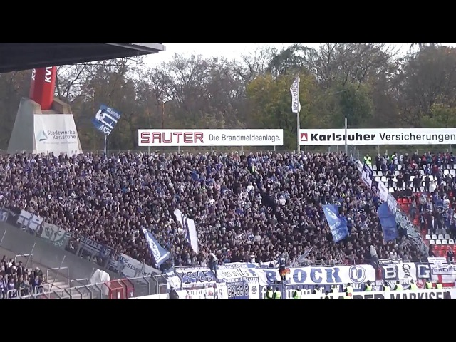 Karlsruher Sc vs 1.Fc Magdeburg Ultras FC MAGDEBURG 2017/2018 3.Liga