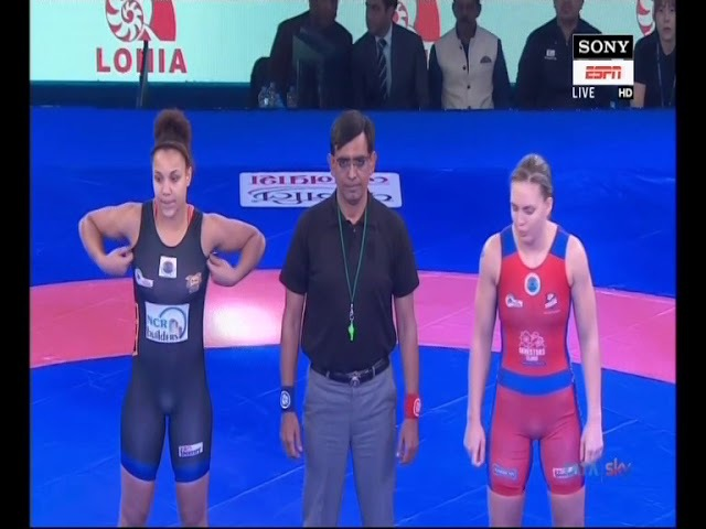 PWL 3 Day 3: Koumba Selene Fanta Larroque Vs Zsanett Nemeth at Pro Wrestling league 2018| Highlights