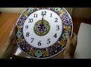Декоративные настенные часы (с золотом) Ч-4001