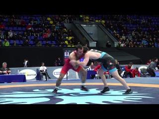 1 4 Final GR 82 kg AZE ELVIN MURSALIYEV GEO ZURABI DATUNASHVILI