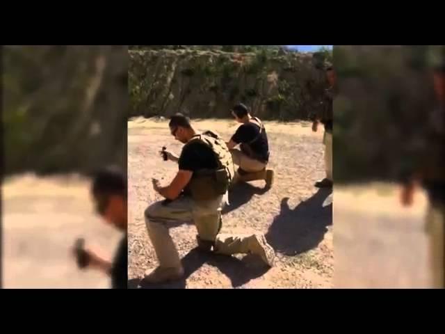 IFS2I Protection Rapprochée - Entrainement Garde du Corps TIR TACTIQUE - TEXAS 2014