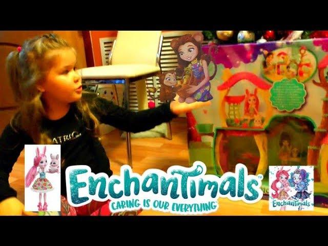 Расспаковка дома для кукол Enchantimals! Шикарный подарок на Новый год!