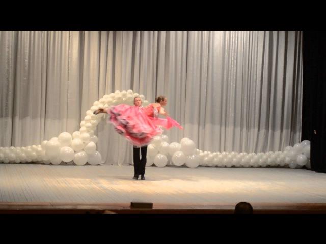 Детский фестиваль танца-2014. Вальс.