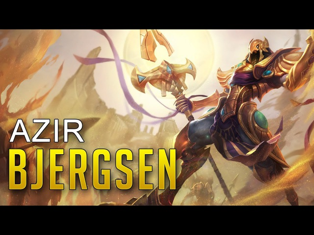 Bjergsen as Azir - Bjergsen Solo Queue Highlights
