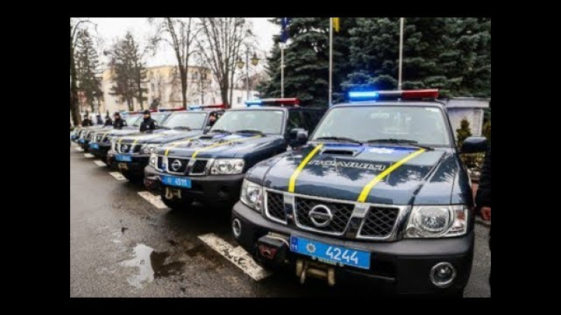 Місія Євросоюзу передала Нацполіції 30 позашляховиків для роботи у важкодоступн