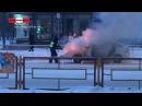 Приора сгорает на перекрёстке. Real video