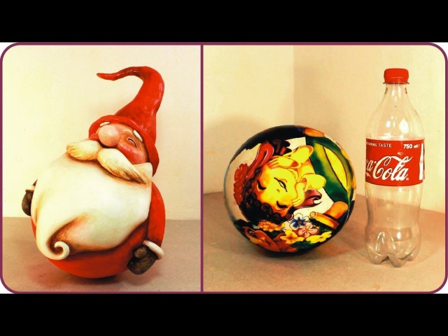 ❣DIY Roly-Poly Santa Claus❣