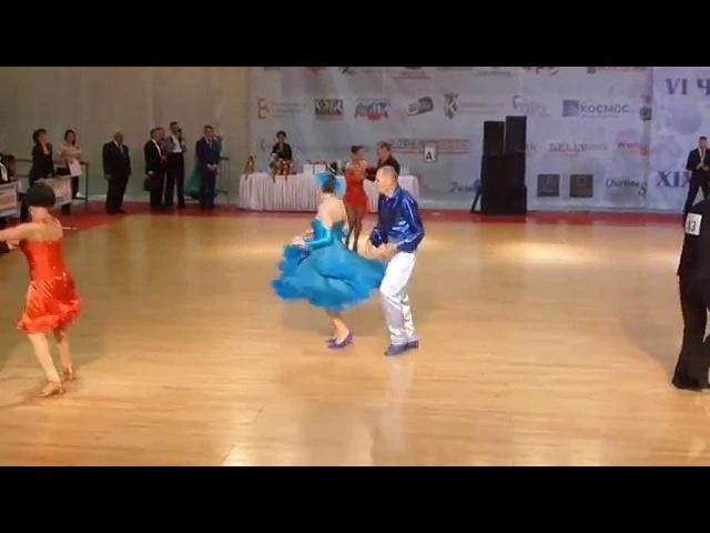 Дети Войны танцуют Джайв 9 мая на турнире Вальс Победы 2014 в Москве