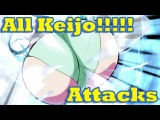 Keijo!!!!!!!! -  All Attacks and Special Moves from the Anime